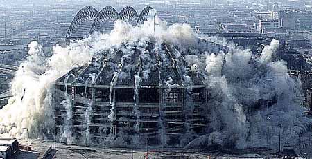 Kingdome demolition