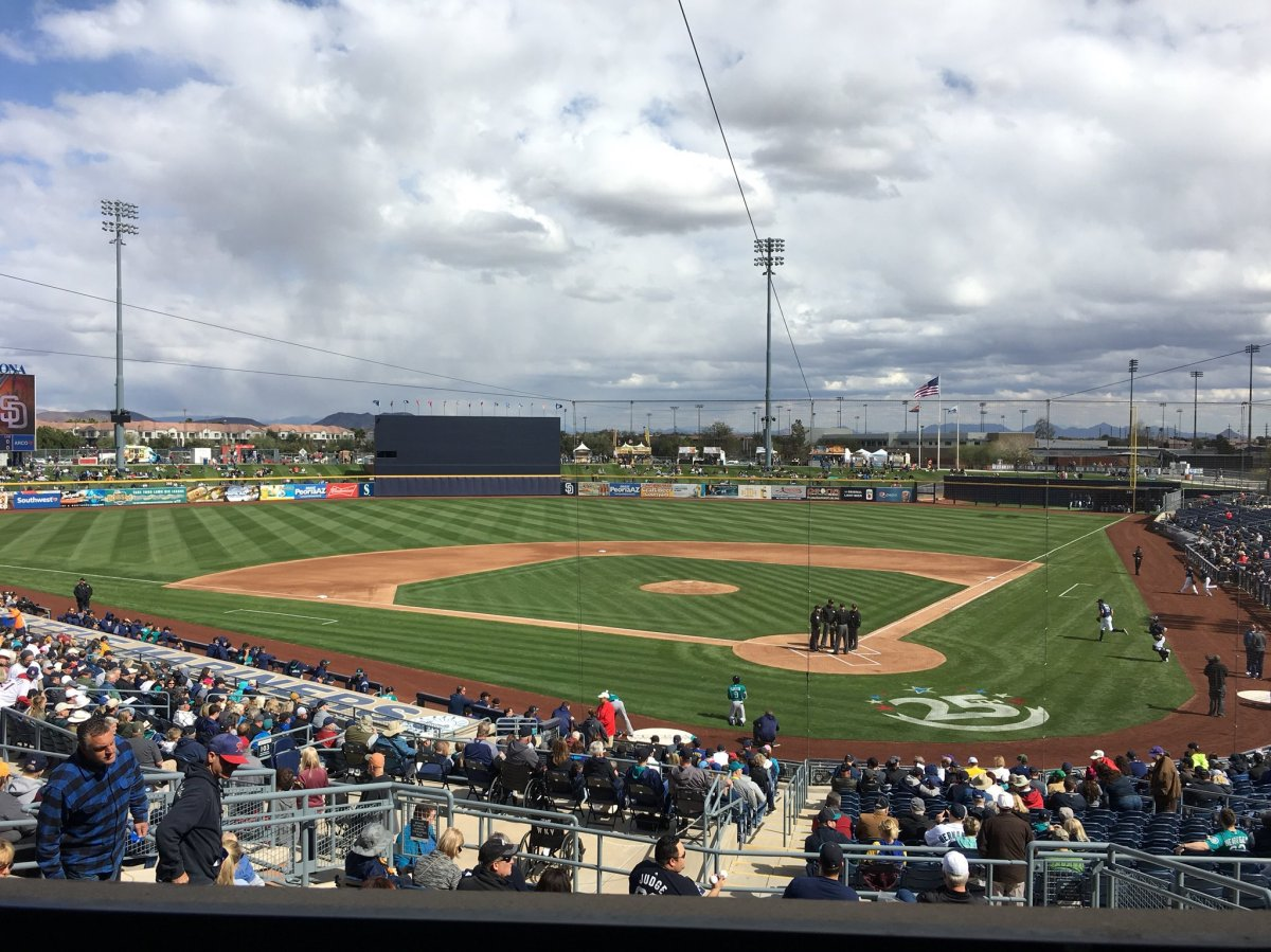 The Mariners Beat The Padres In The First Spring Training Game Of The Year And You'd Better Not Expect Many More Of These From Me ThisSeason